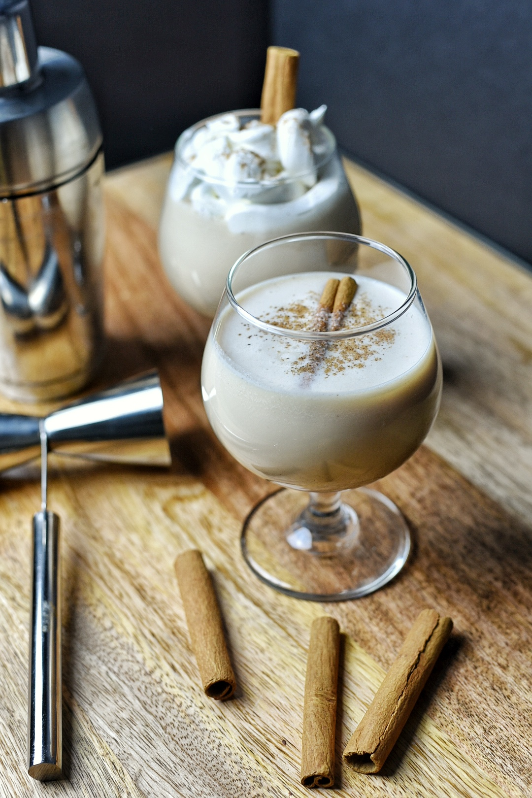 The Cool Coquito Cocktail
