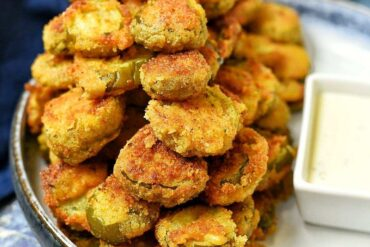 Creole Fried Pickles