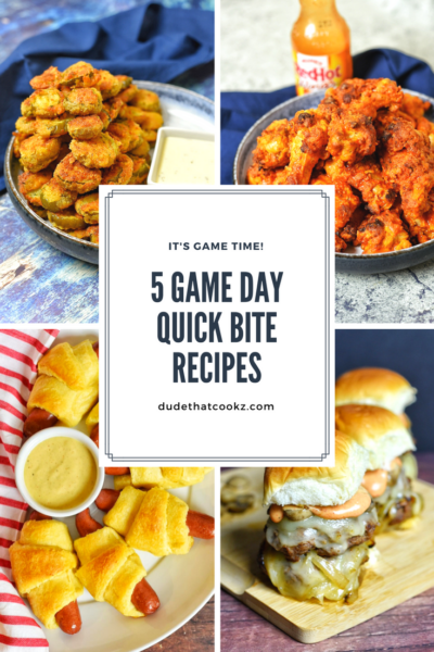 5 Tasty Game Day Snacks