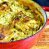 Curry Chicken & Mushroom Risotto