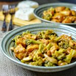 General Tso's Chicken & Broccoli