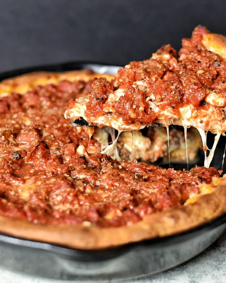 Chicago Style Deep Dish Pizza