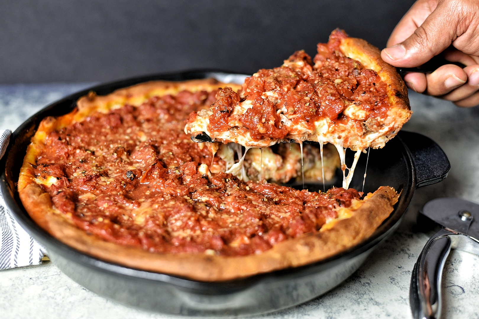 Chicago style deep dish pizza dude that cookz chicago style deep dish pizza forumfinder Images