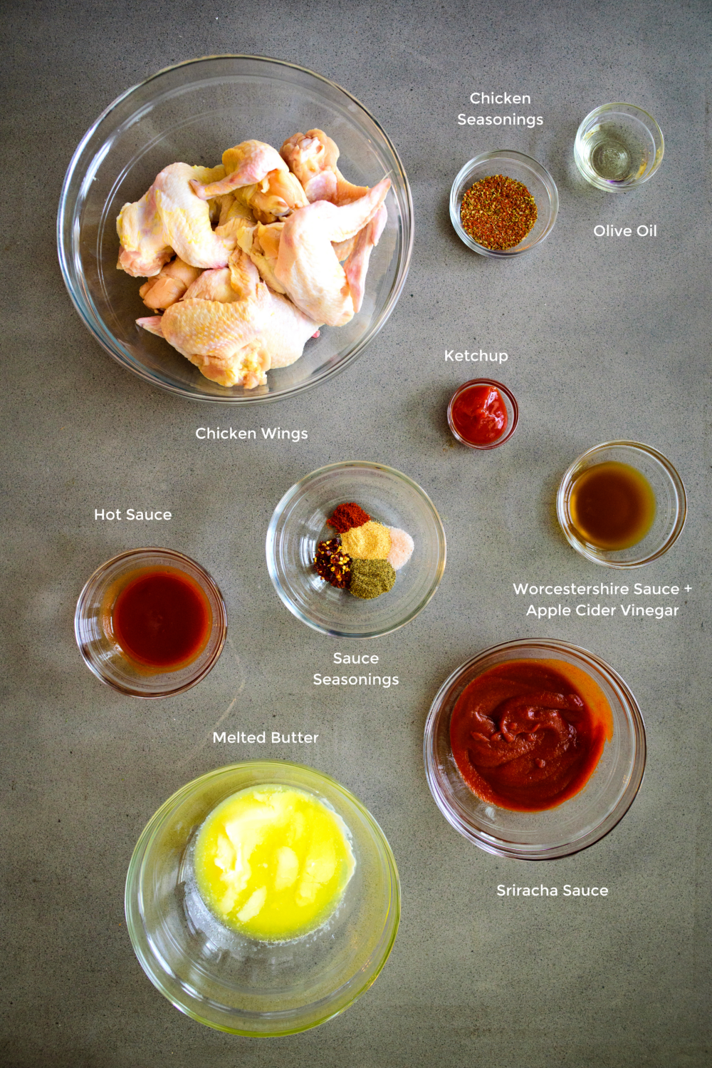 hot wing ingredients