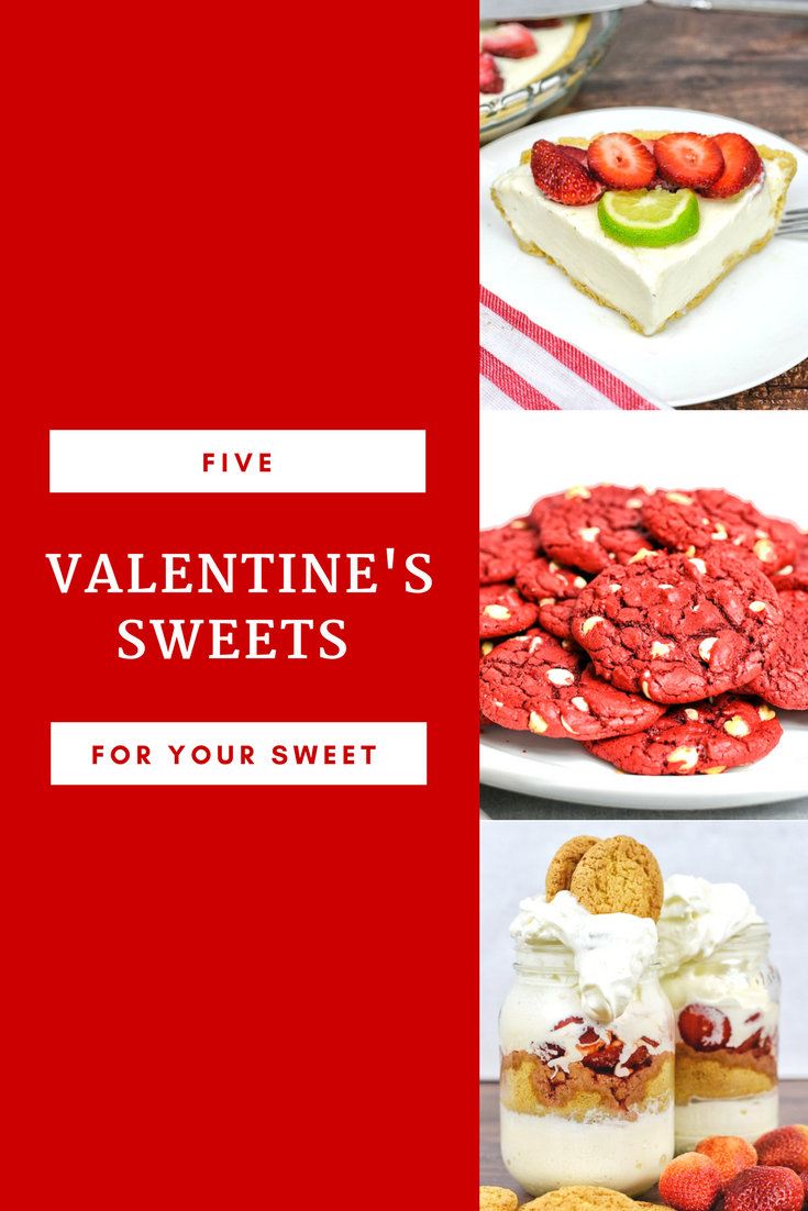 If want to surprise your sweetheart with some treats, these 5 sweet recommendations can get the night going in the right direction. If you go this route, you can enjoy the festivities of love paired a satisfied sweet tooth in the comfort of your home. Enjoy! #sweets #desserts #valentinesday