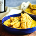 Cajun Fried Fish and Cheese Grits