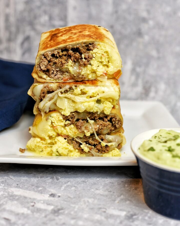 breakfast beef burrito