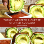 Turkey Wrapped Stuffed Avocado