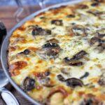 Black Truffle Mushroom White Pizza