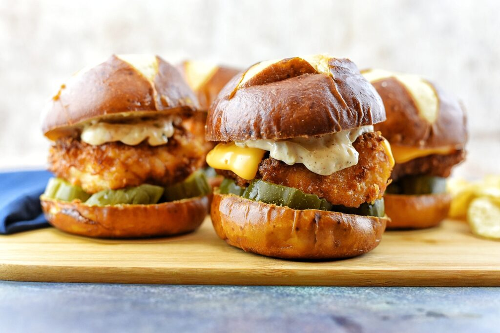 "Crispy ""Ritz"" Fried Fish Sandwich"