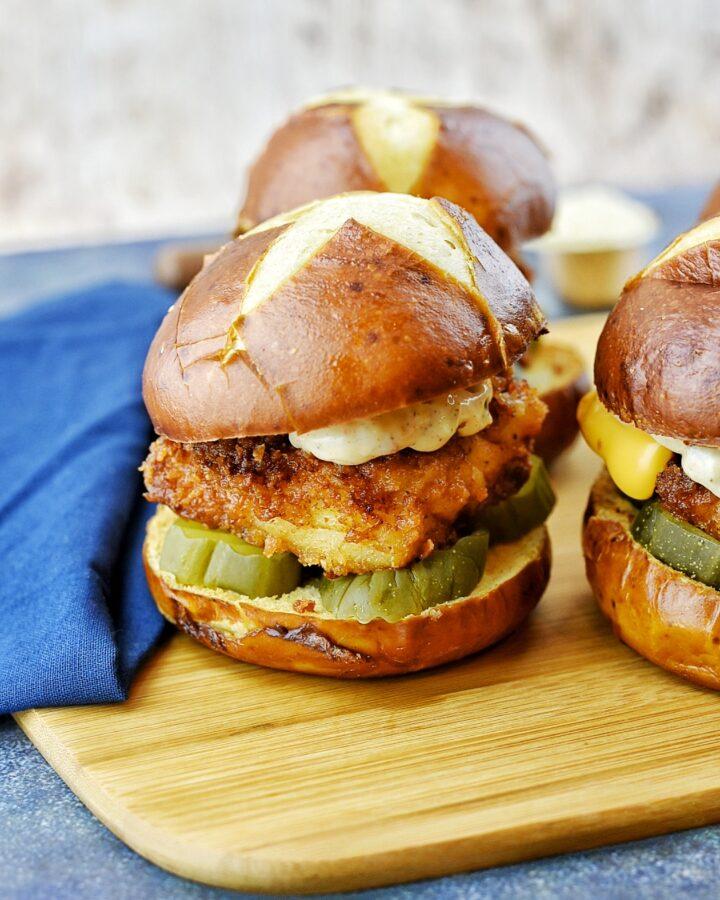 """Crispy """"Ritz"""" Fried Fish Sandwich"""
