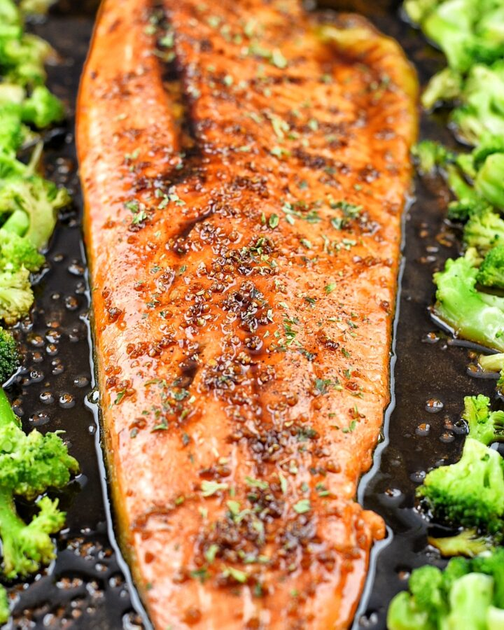 Honey Balsamic Steelhead Trout