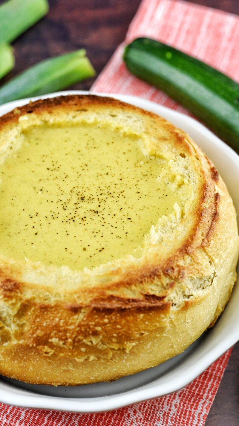 Creamy Zucchini and Sweet Potato Soup