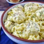 Chicken Meatball Mac & Cheese