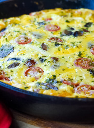 Turkey Sausage & Spinach Frittata