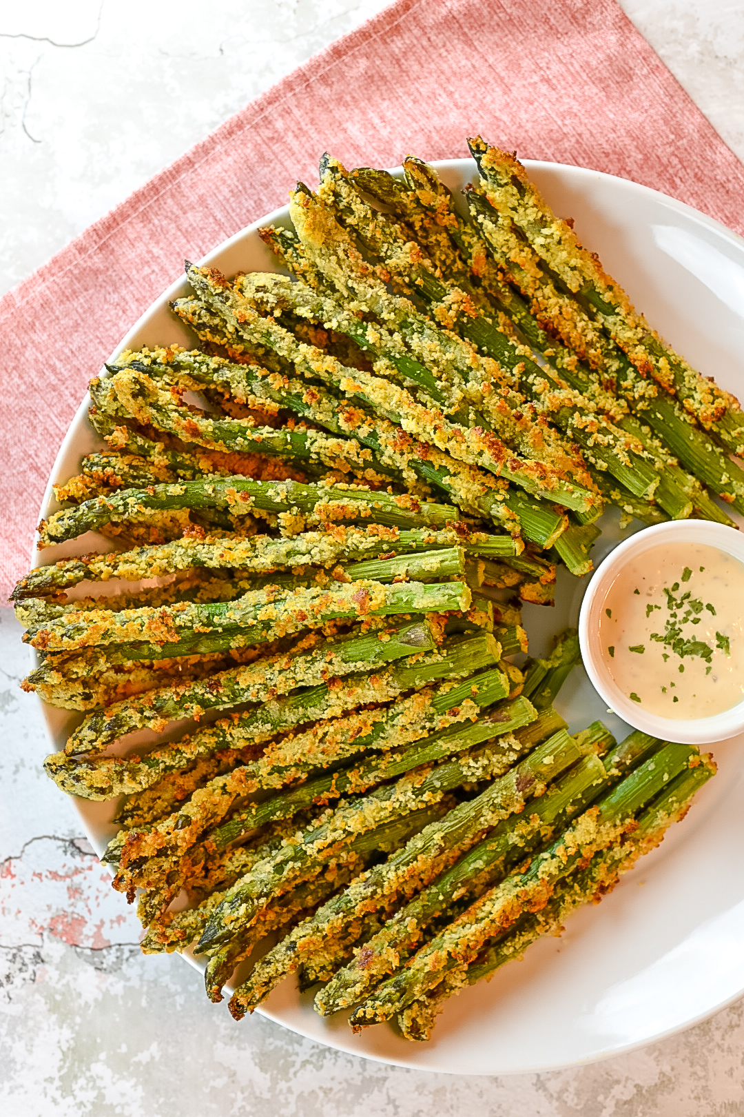 Parmesan Crusted Asparagus Spears Dude That Cookz