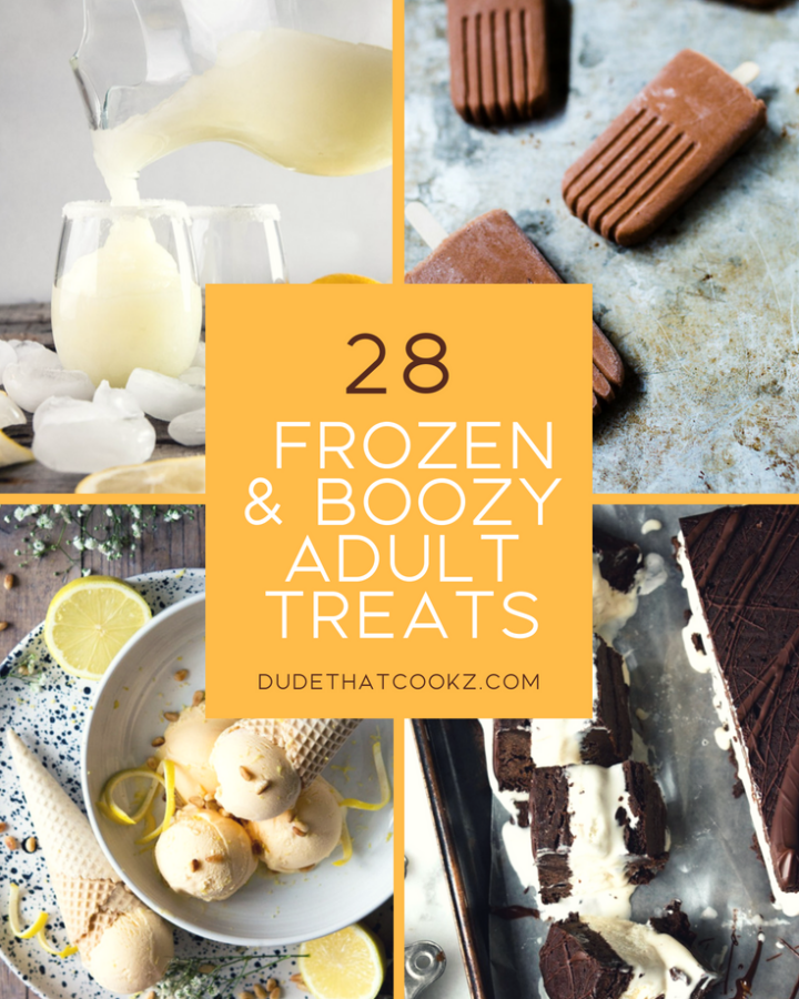Chill Out With These 28 Frozen & Boozy Adult Treats