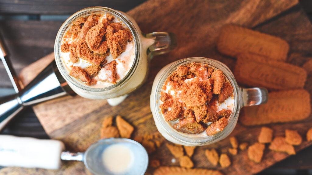 Biscoff & Cream Boozy Milkshake