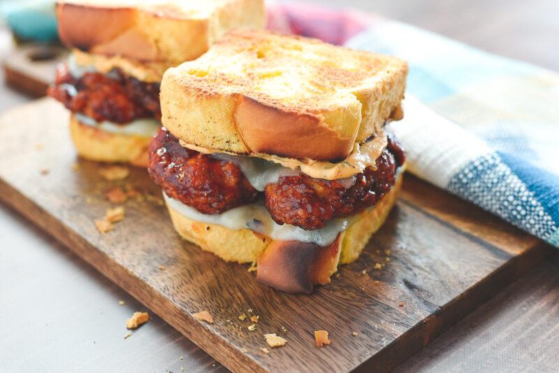 honey bbq chicken strip sandwich whataburger copycat