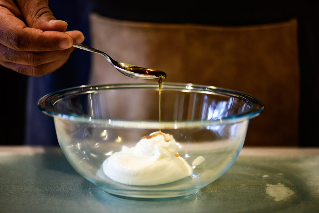making cream sauce