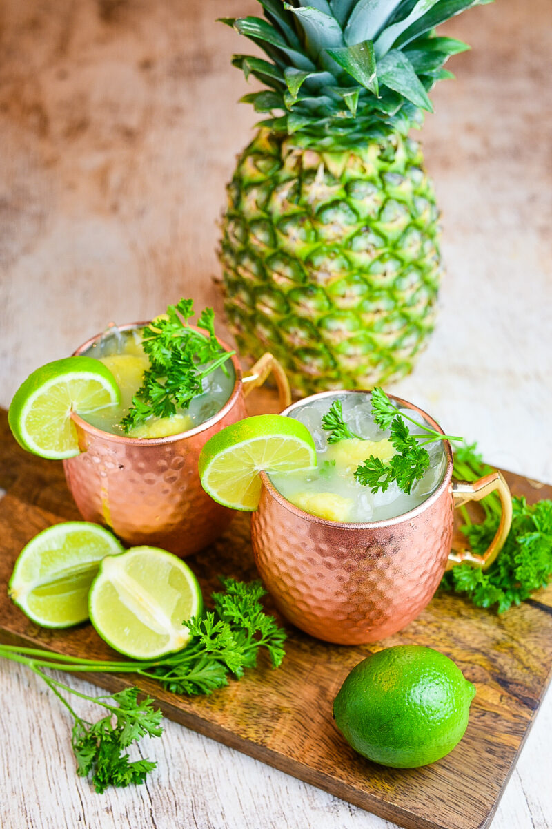 Pineapple Coconut Moscow Mule
