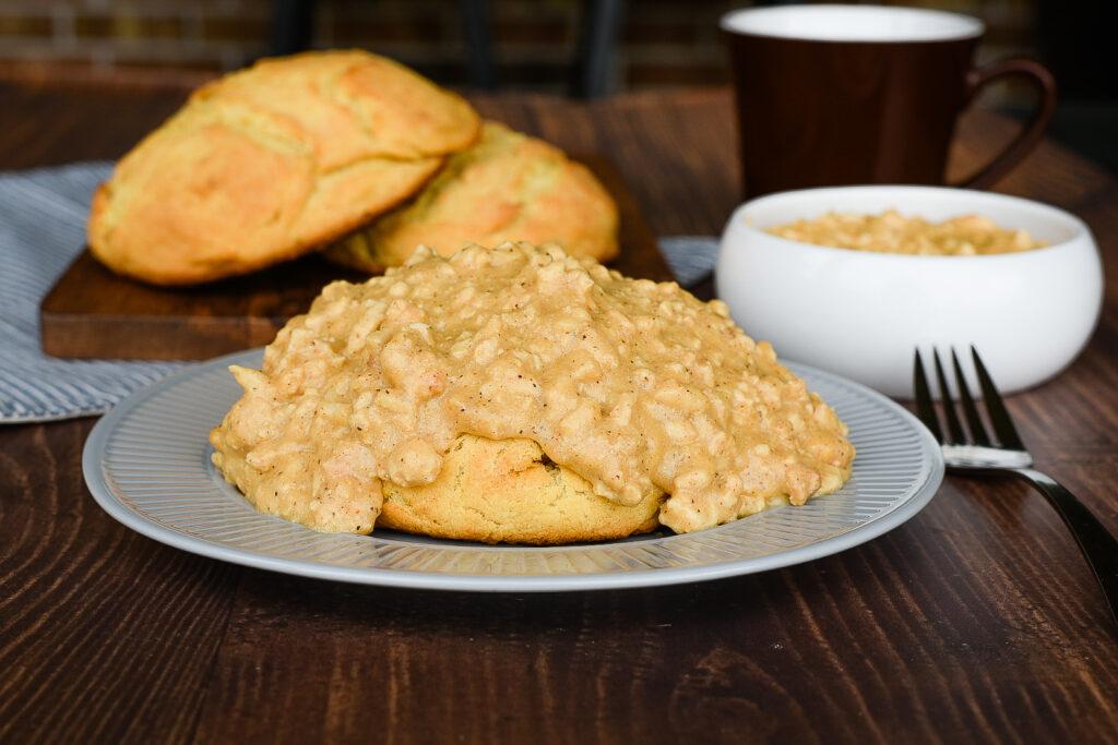 Biscuits With Turkey Gravy