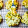 Chicken Broccoli & Cheese Twice Baked Potatoes