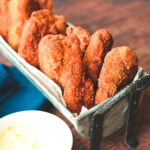 Crispy Fried Red Snapper Fish Sticks
