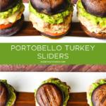 Portobello Turkey Sliders