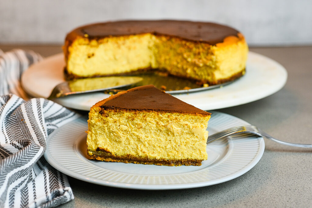 Sweet Potato New York Style Cheesecake