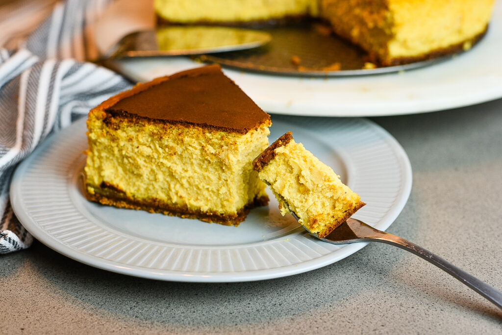 Sweet Potato New York Style Cheesecake
