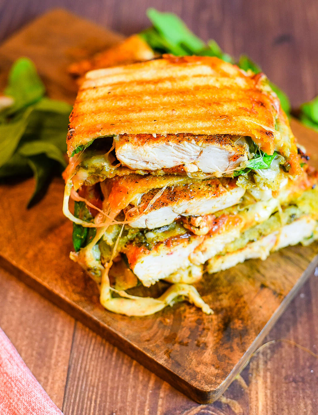Italian Grilled Chicken Panini