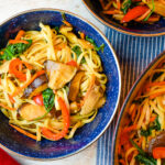 Easy Breezy Vegetable Lo Mein