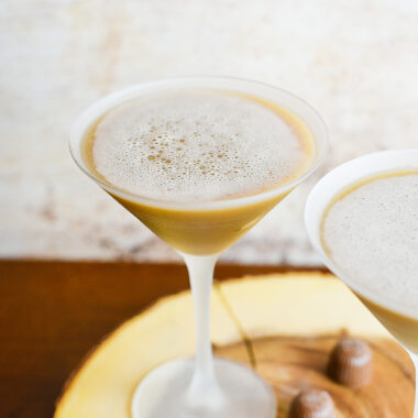 Chocolate Pecan Cream Martini