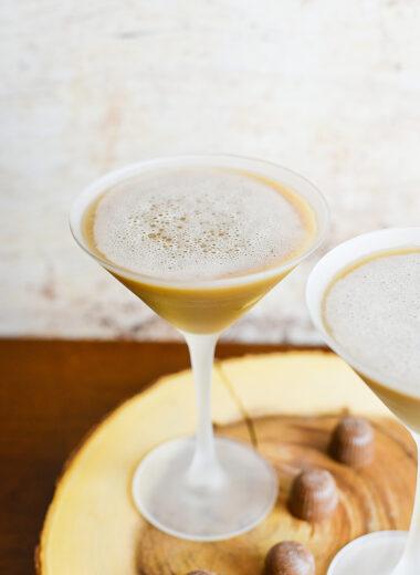Chocolate Pecan Cream Martini