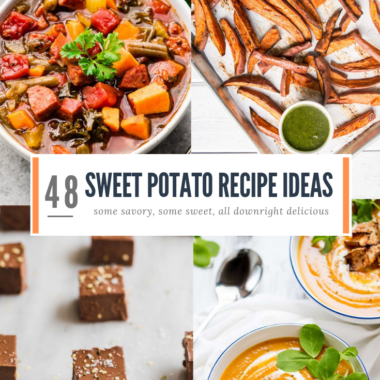 48 delicious sweet potato recipes