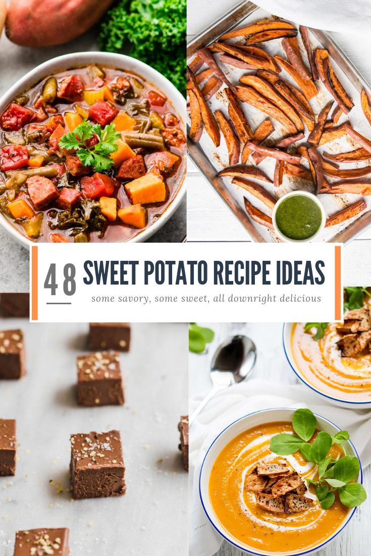 48 delicious sweet potato recipes