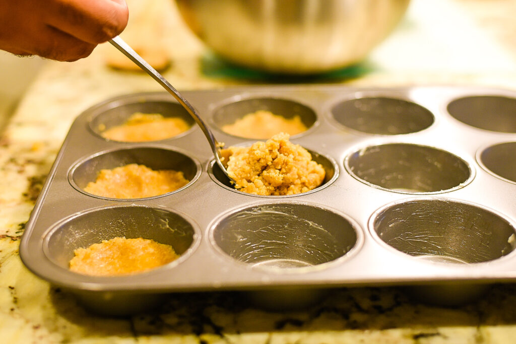 Making Sweet Potato Muffins