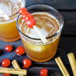 Cinnamon Maple Whiskey Sour