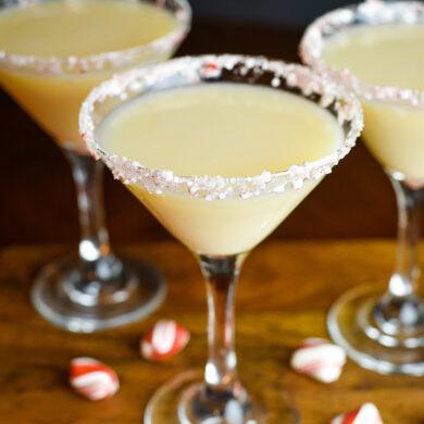 Peppermint Cream Martini
