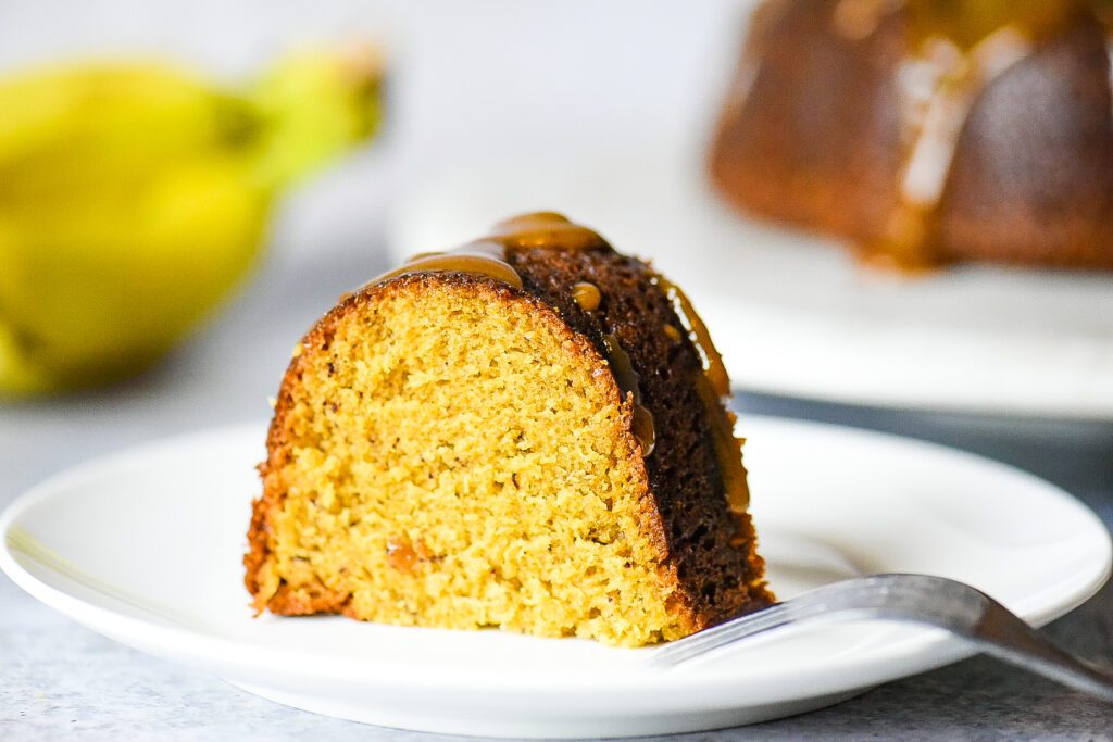 Bananas Foster Bundt Cake