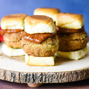 Cajun Turkey Boudin Sliders