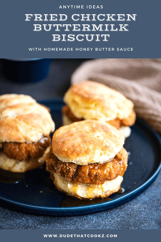fried chicken buttermilk biscuit