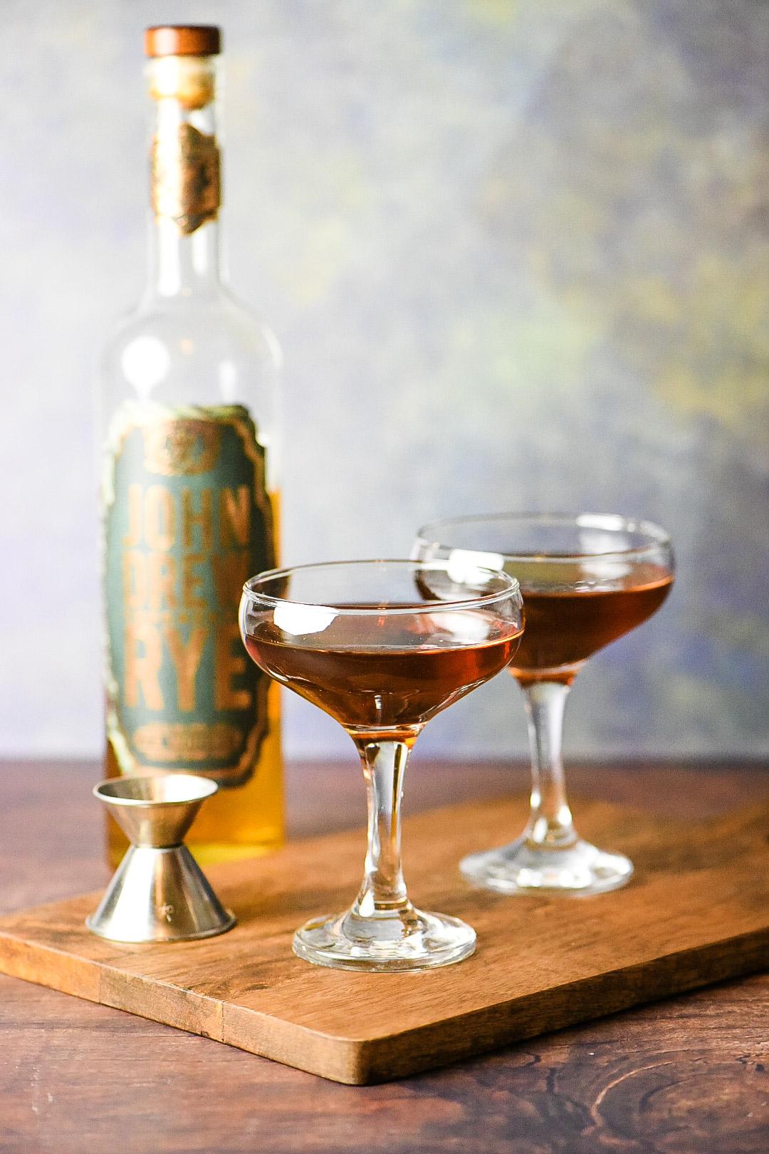 Classic Manhattan Cocktail Dude That Cookz