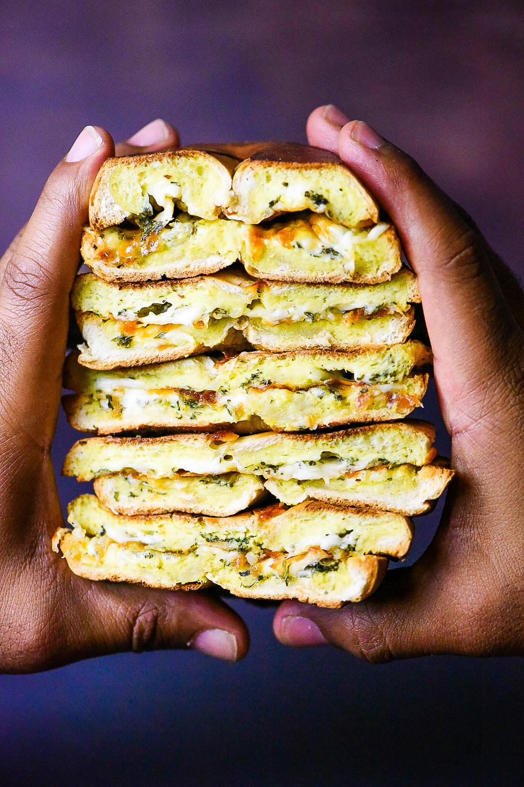 Stuffed Bagel Breakfast Sandwich