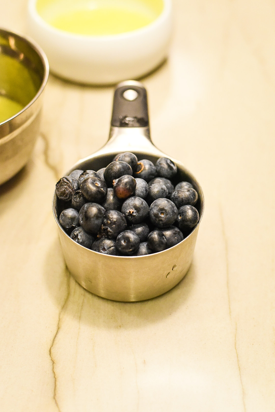 Blueberry Lemonade Belgian Waffles