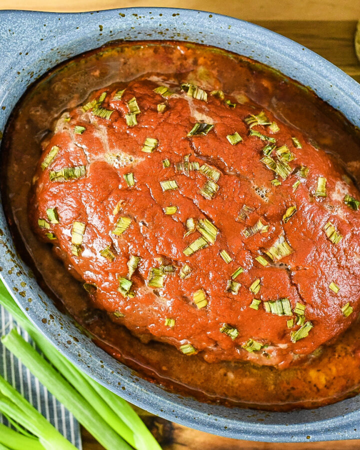 Classic Southern Style Meatloaf