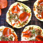 Turkey Pepperoni & Hamburger English Muffin Pizzas
