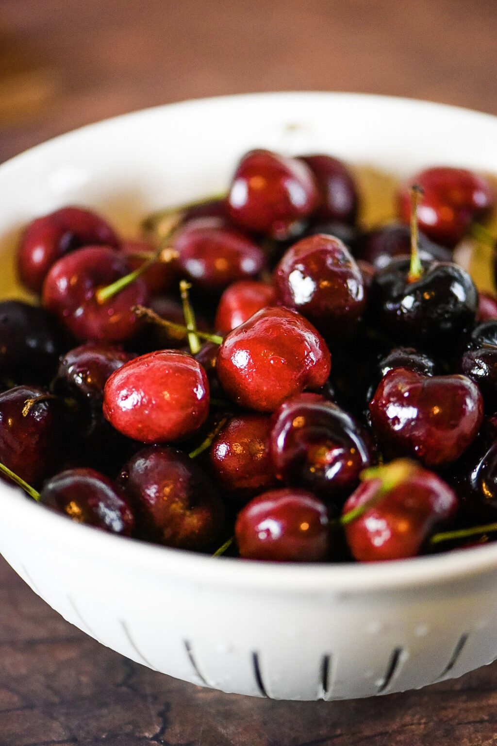 Easy Dark Cherry Sauce