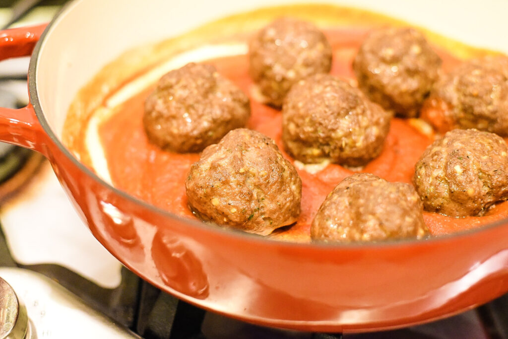 Italian Meatball Sub Sandwich